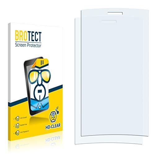 BROTECT Schutzfolie kompatibel mit Lumigon T2 2012 [2er Pack] klare Bildschirmschutz-Folie
