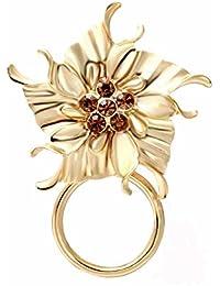 noumanda color oro angelo magnetico porta occhiali, occhiali da sole Hanger, Pin Spilla, magnetica, Occhiali da lettura Pin