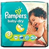 Pampers Baby Dry taille 3(4–9kg) x 30par paquet