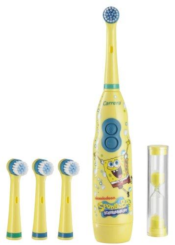 SpongeBob 9314021 elektrische Zahnbürste mit Box