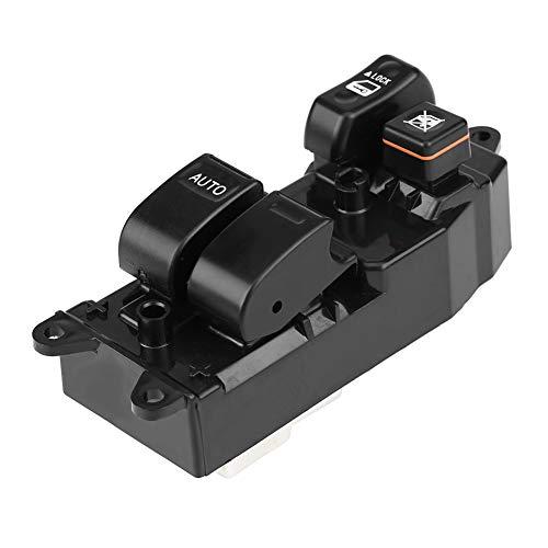 KIMISS Interruptor elevalunas eléctrico para automóvil,Interruptor de la ventana principal de energía...