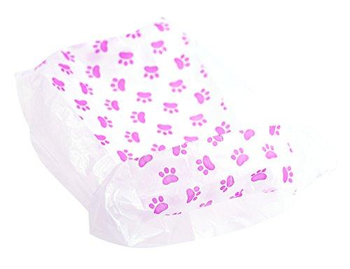 FiveSeasonStuff 200er Packung Zufällige Farbe und Muster Hunde / Katzen / Haustier Biologisch Abbaubar Kotbeutel - 6