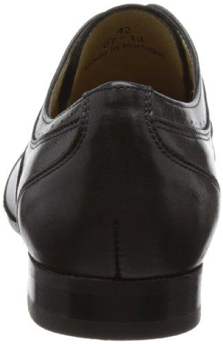 Hudson  Francis,  Scarpe stringate modello Derby uomo Nero (Black)