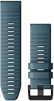 Original GARMIN FENIX 6 /fenix 5 QUICKFIT 22 BAND LAKESIDE BLUE SILICONE