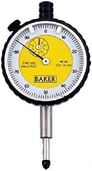Baker Plunger Type Dial Gauge (0.01Mm Reading ,Range 10Mm & Graduation 0-100)