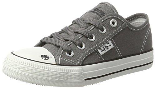 Dockers by Gerli 40ci601-710200, Sneakers Basses Mixte Enfant Gris (Grau 200)
