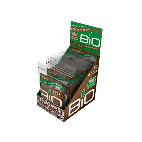 1200 Filtri Pop Filters Biodegradabili 1 Box x 10 Bustine
