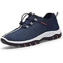 Hombres Zapatos Casuales Senderismo Zapatos Zapatillas de Moda al Aire Libre Turismo Hombres Zapatos