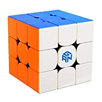 Liangcuber GAN 356 R 3x3 Stickerless Speed Cube Gans 356R 3X3X3 GES V3 System Magic Cube