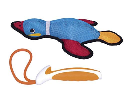 Nobby 50569Taff Toy Nylon Ente Extra Strong con centrifuga