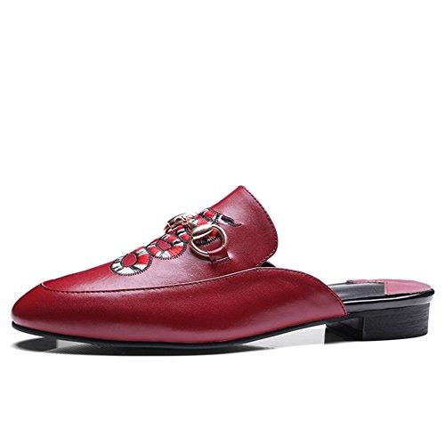 Nine SevenFlats - Scarpe con cinturino alla caviglia donna Red