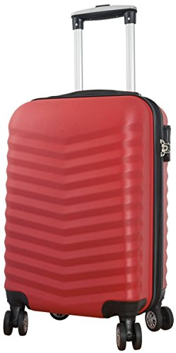 Coffre BORA Rouge Taille XL ABS rigide Valise trolley Case FA. bowatex