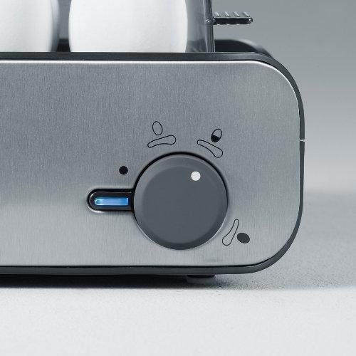 41pajA8688L. SS500  - Severin Egg Boiler with 400 W of Power EK 3134, Brushed Stainless Steel-Black
