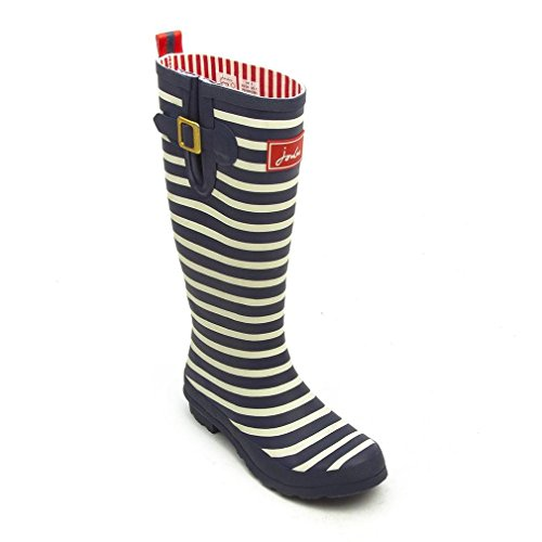 JOULES Welly Print Damen Stiefel French Navy Stripe
