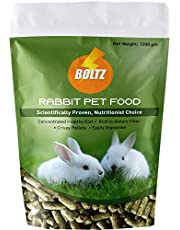 Boltz Rabbit Food,Nutritionist Choice (ISO 9001 Certified)-1200 gm