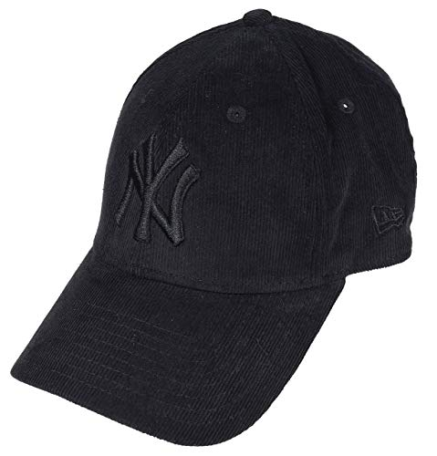 af858fa6528be New Era New York Yankees MLB Cap New Era 9forty Damen Verstellbar Schwarz  Cord - One