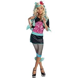 Monster High - Disfraz de Lagoona Blue para niña, infantil 5-7 años (Rubie's 884789-M)