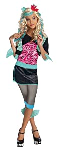 Monster High - Disfraz de Lagoona Blue para niña, infantil 8-10 años (Rubie