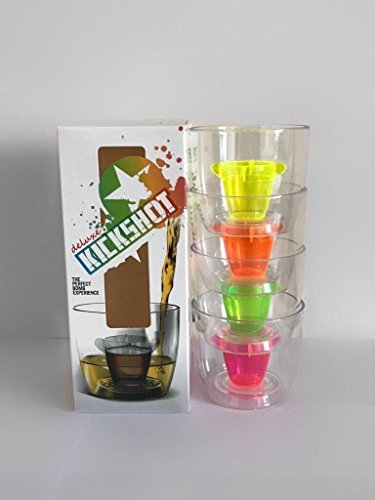 Bomber cups - Gift pack: Perfect for presents, parties, drinking games, also known as Jager Bomb cups Party-bomber