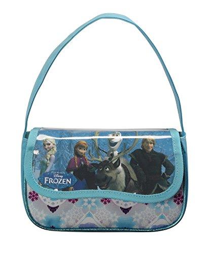 Disney Frozen - Die Eiskönigin, ELSA Anna Olaf, Handtasche Schultertasche (S508), blau/weiß (615), 20 x 12 x 4,5 cm (Frozen Olaf-geldbörse)
