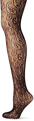 Preisvergleich Produktbild Fiore Damen Netz Body Venus/Obsession, 40 Den, Schwarz (Black 001), 40 (Herstellergröße:4)