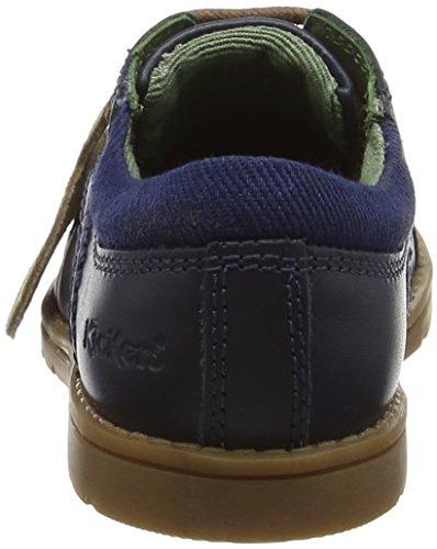 Kickers Orin Derby Chaussures à lacets Garçon Bleu (bleu foncé)