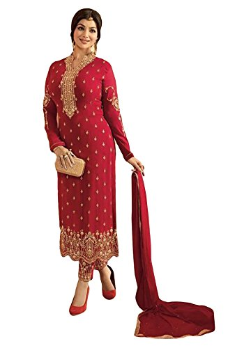 Justkartit Stylish New Ethnic Casual Wear Georgette Salwar Kameez Suits 2018