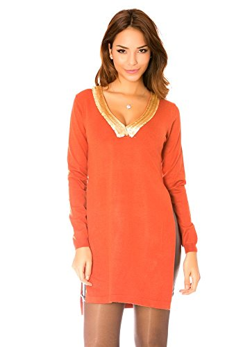 dmarkevous -  Canotta  - Straight  - Donna Rosso