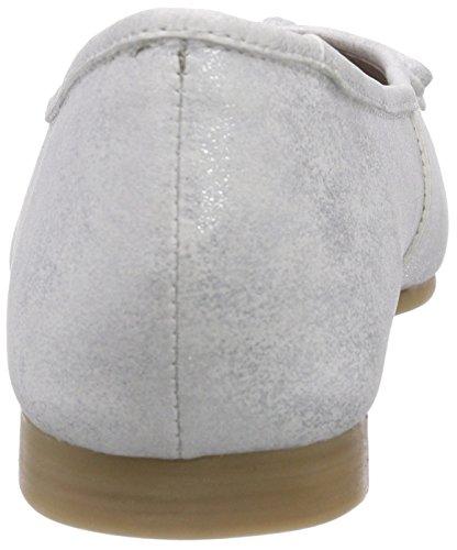 Andrea Conti 0599411096 Damen Geschlossene Ballerinas Silber (silber 096)
