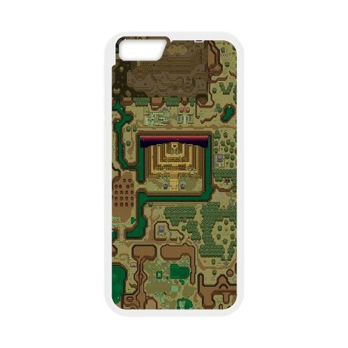 Dark World Map The Legend Of Zelda A Link To The Past 3 33 coque iPhone 6 4.7 Inch Housse Blanc téléphone portable couverture de cas coque EBDXJKNBO15136