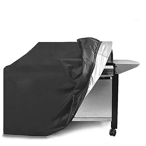 Extsud copertura bbq griglia telo copri barbecue impermeabile in poliestere cover protettiva griglia anti pioggia/polvere/vento/neve/sole accessorio bbq perfetta protezione per weber 145x61x117cm