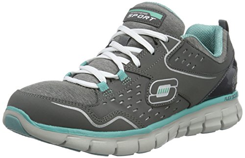 skechers-womens-synergy-modern-movement-low-top-sneakers-grau-ccaq-8-uk