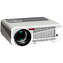 HTP LED-86+ 2800lúmenes sistema de proyector de 5,8pulgadas LCD + LED lámpara HD con 1280* 768píxeles de resolución 2000: 1relación de contraste gran para reproductor de Blue-ray, XBOX, PlayStation3u otra consola de juegos