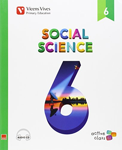 Ep 6 - Sociales (ingles) - Social Science (active Class) - Aula Activa (CD no incluido) - 9788468229072