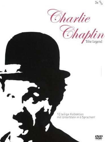Charlie Chaplin - The Legend (3 DVDs)