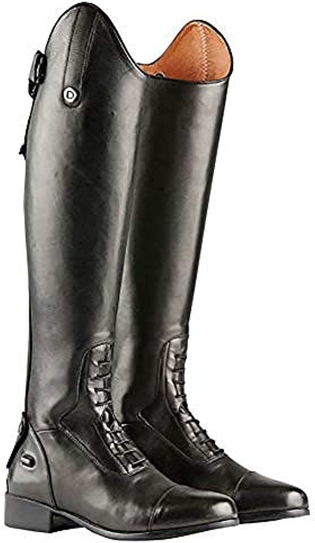 Dublin Galteemore Campo Lungo Stivali da Equitazione 6.5 Regular Short Nero | Exquisite (medio) lavorazione  | Scolaro/Ragazze Scarpa