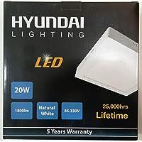 LED Square Panel Light Ceiling mount Energy Saving 20 watt 110v 220 v 22.5x22.5cm