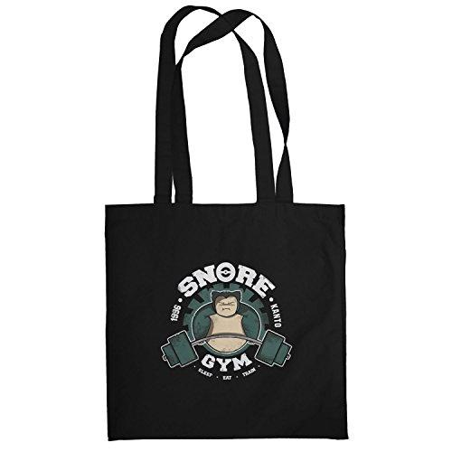 Texlab–Snore Gym–sacchetto di stoffa Nero