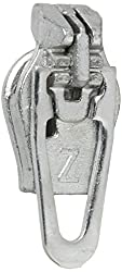 ZlideOn Zipper Pull Replacements Coil 3-Silver