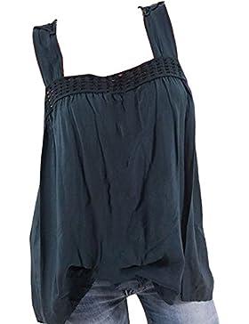 Hibote Camisas Atractivas de Las Mujeres Camisa Sin Mangas Superior Atractiva del Verano del Chaleco Blusa Camisetas...