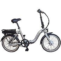 SAXONETTE Compact Plus Faltrad Klapprad E-Bike Pedelec Vorderradmotor 7,8Ah 250W 36V Lithium-Ionen Akku Shimano 3Gang Nabenschaltung mit Rücktritt