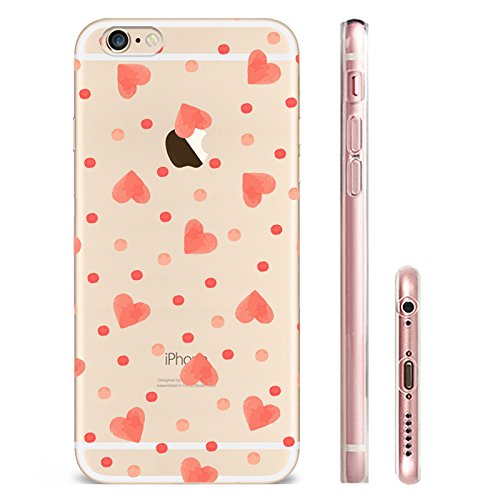 IPHONE 6s Hülle Meerjungfrau Ananas Liebe Muster TPU Silikon Schutzhülle Handyhülle Case - Klar Transparent Durchsichtig Clear Case für iPhone 6s hw17
