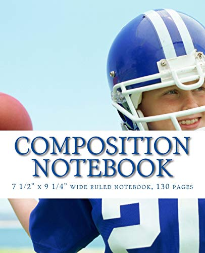 Composition Notebook: 7 1/2