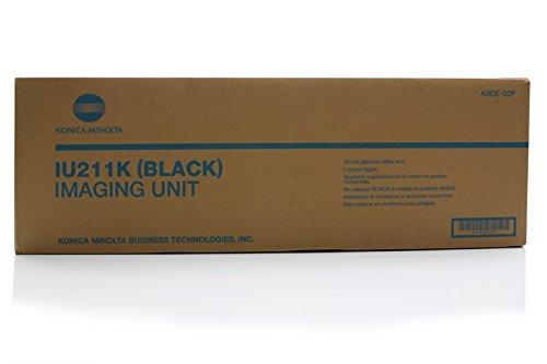 Konica Minolta Image Drum (Original Konica Minolta A0DE02F / IU211K Bildtrommel (black, ca. 70.000 Seiten) für Bizhub C 203, 253)