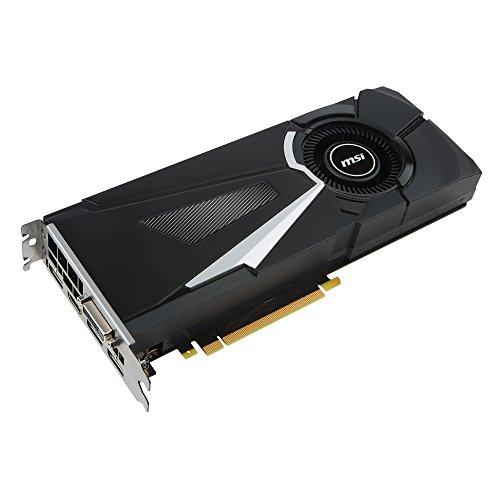 Get MSI NVIDIA GeForce GTX 1070 Ti AERO 8G 8 GB GDDR5 PCI Express Graphics Card – Black Reviews