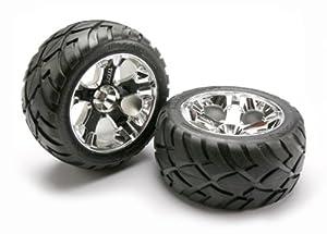 Traxxas 5576R - Pieza de neumático y Rueda para Coche, Cromado, 17 mm