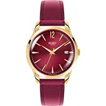 Henry London - Holborn - Reloj - Burgundy (Reacondicionado)