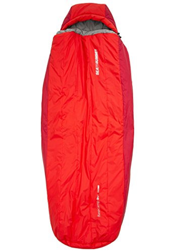 Sea to Summit BaseCamp Bs4 Sleeping Bag Long red 2016 Deckenschlafsack