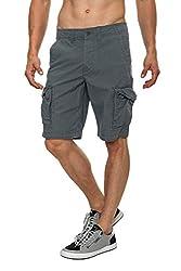 JACK & JONES Herren Shorts, (Herstellergröße: M), Grau (Forged Iron)