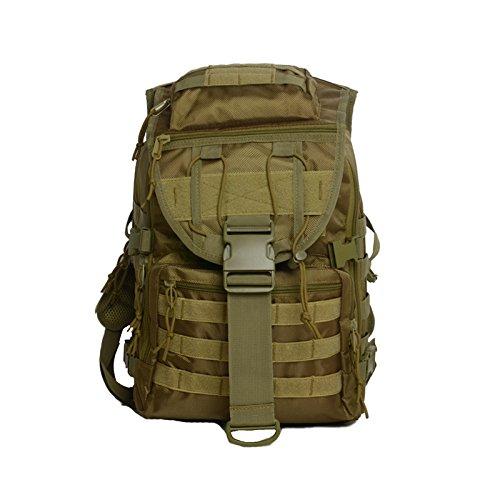 Mefly Gli Sport Outdoor Zaini Campeggio Zaini Alpinismo Borse Tactical Camouflage Computer Sport Jungle Digital Khaki